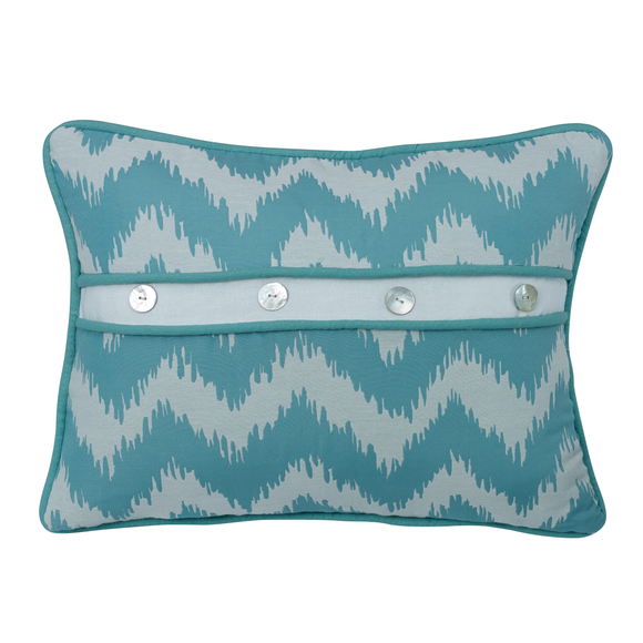 FB3930P2  Catalina Oblong Chevron Print Pillow - ThunderHorseCabin.com