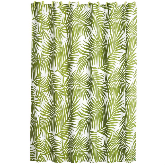 FB4100SC  Capri Shower Curtain - ThunderHorseCabin.com