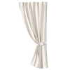 FB4160C2  Gramercy Striped Curtain Panel - ThunderHorseCabin.com