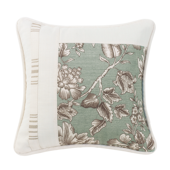 FB4160P1  Gramercy Square Pillow - ThunderHorseCabin.com