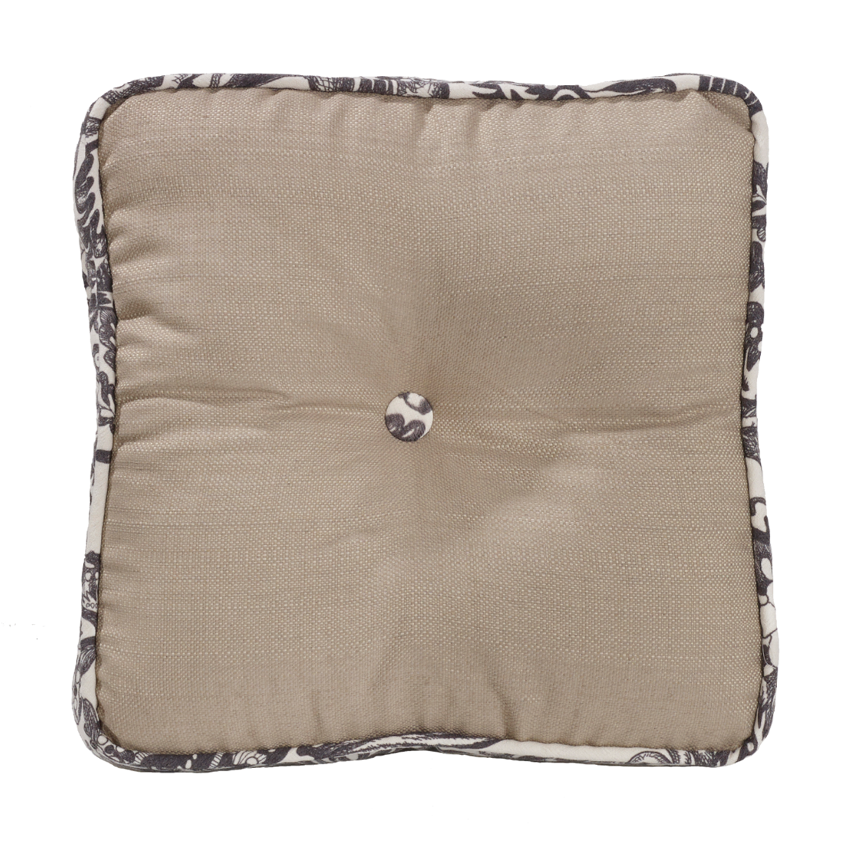 FB4162P3  Augusta Buttoned Boxed Pillow - ThunderHorseCabin.com