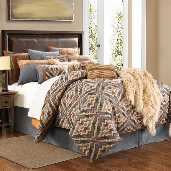 FB5120 - Lexington  Bedding Set - by HiEnd Accents - ThunderHorseCabin.com