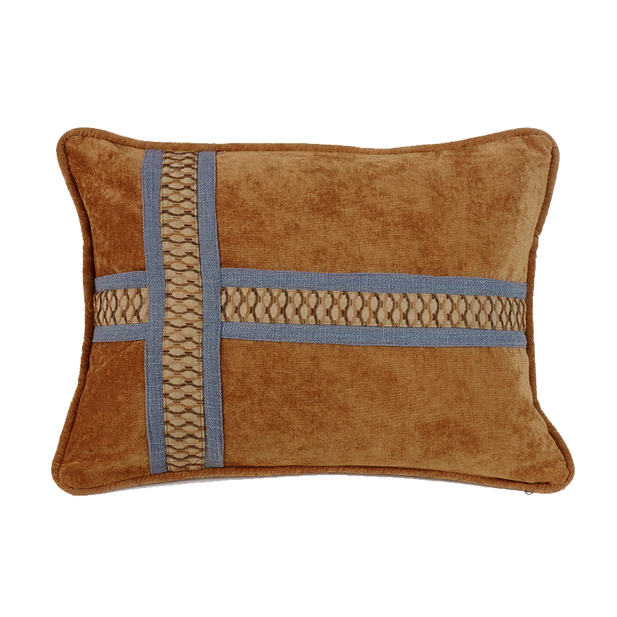 FB5120P5  Lexington Cross Design Pillow - ThunderHorseCabin.com