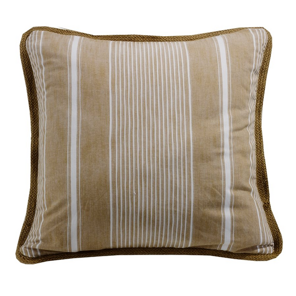 FB5400ES  Newport Reversible Striped Euro Sham - ThunderHorseCabin.com