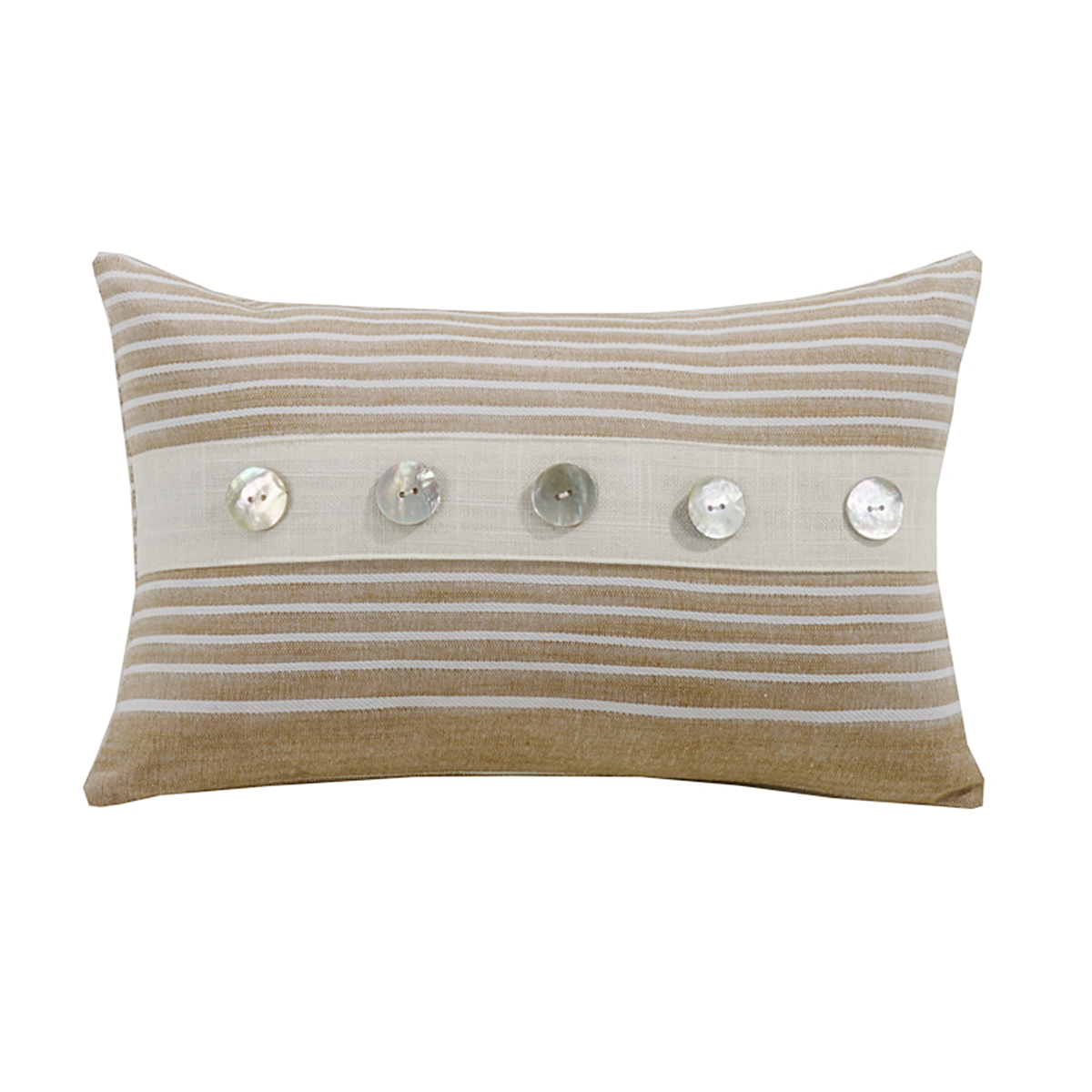 FB5400P3  Newport Small Striped Pillow - ThunderHorseCabin.com