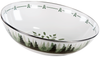 FG18 - Forest Glen Pattern -  Enamelware Catering Bowl - by Golden Rabbit