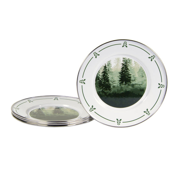 FT11S4 - Set of 4 - Forest Glen - Sandwich Plates