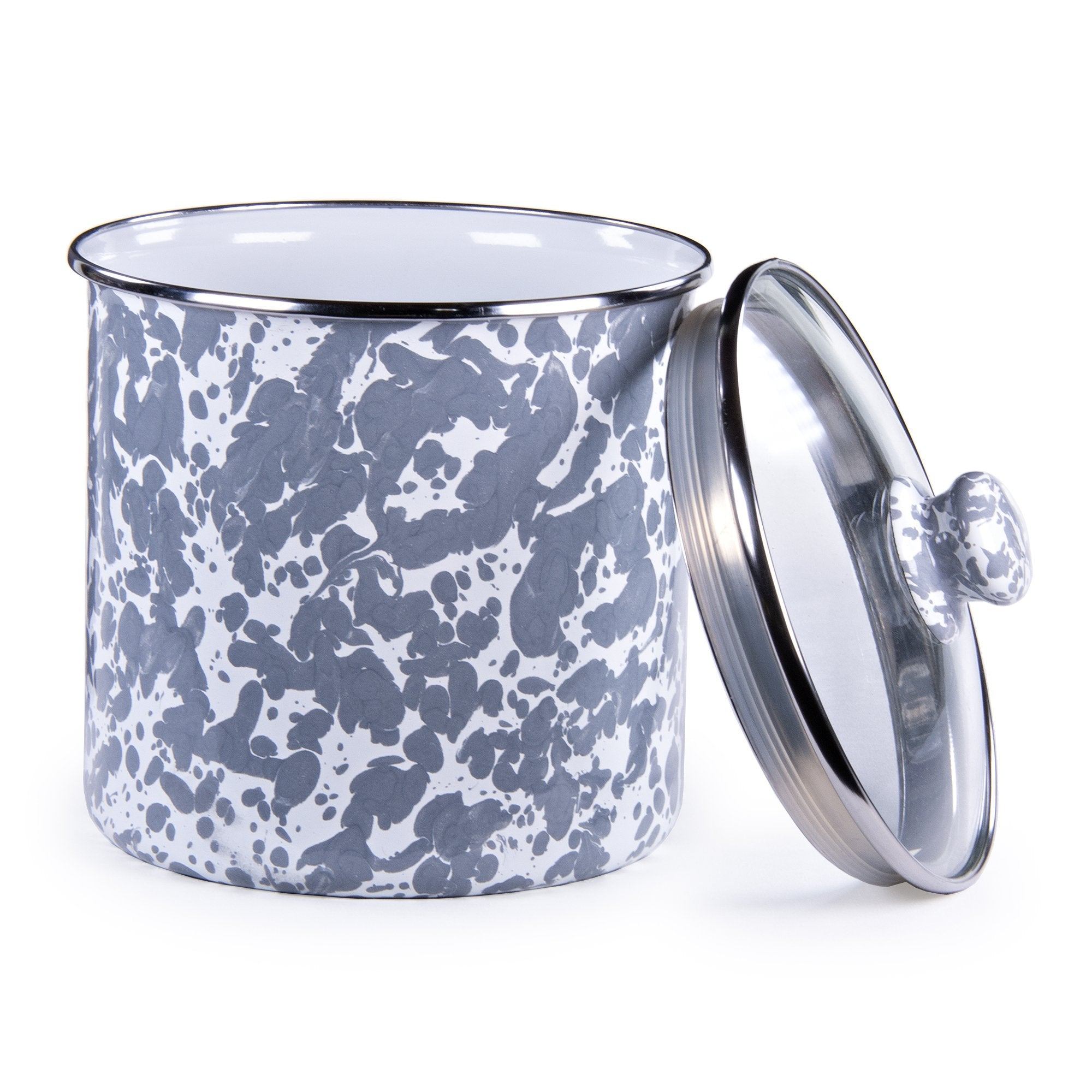 GY38 - Grey Swirl Canister Product 1