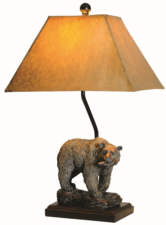 L7080RGBS -  BEAR TABLE LAMP by Vintage Direct Lamps