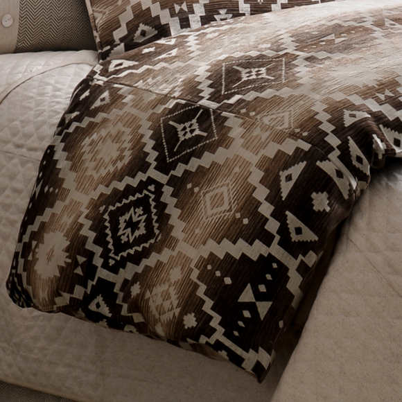 LG1779DU - Chalet Aztec Duvet - Lodge by HiEnd Accents