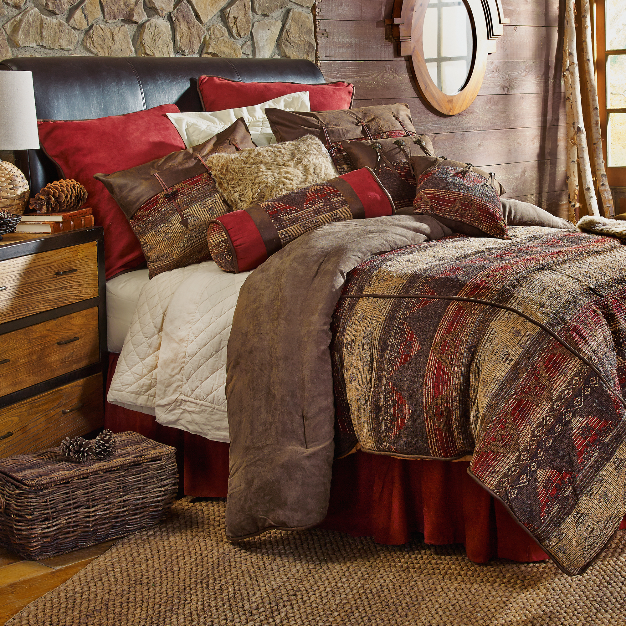LG1830 - Sierra Bedding Set - Western Bedding by HiEnd Accents