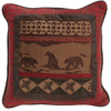 LG1845P1 - Chenille Framed Pillow - Western Decor by HiEnd Accents