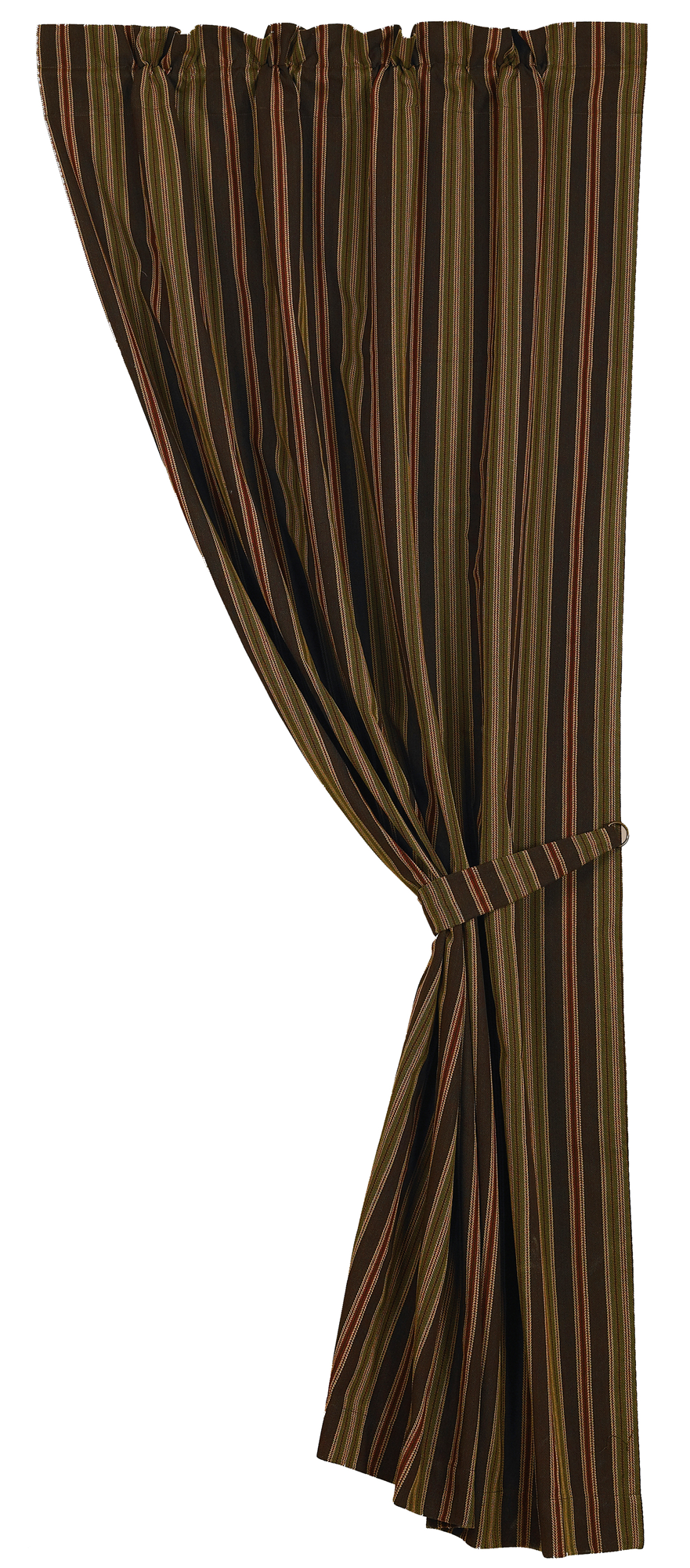 LG1849C - Striped Curtain - Western Bedding by HiEnd Accents
