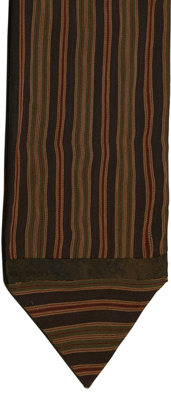 LG1849R - Striped Table Runner - Western Bedding by HiEnd Accents