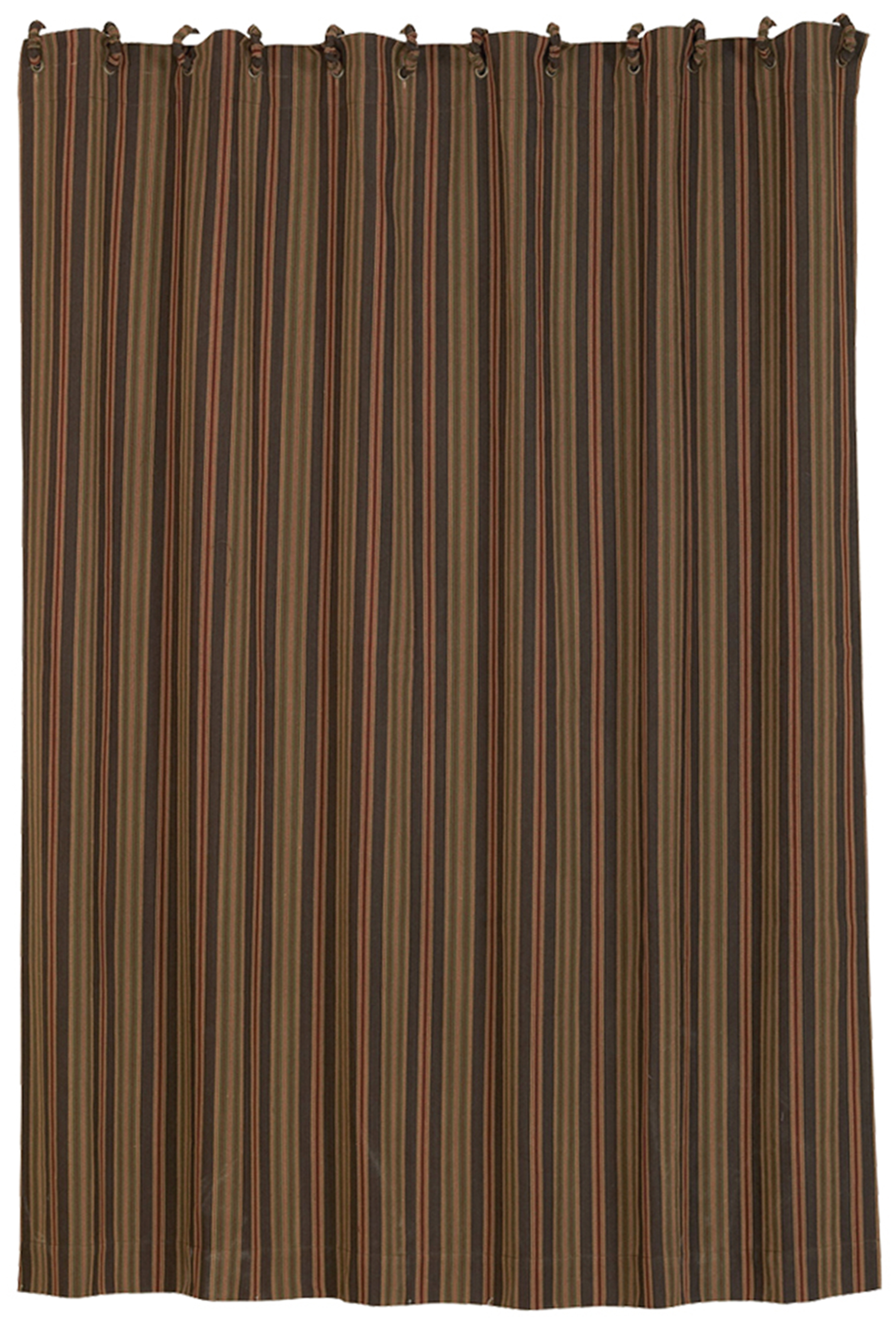 Lg1849sc Striped Shower Curtain Western Bedding By Hiend Accents