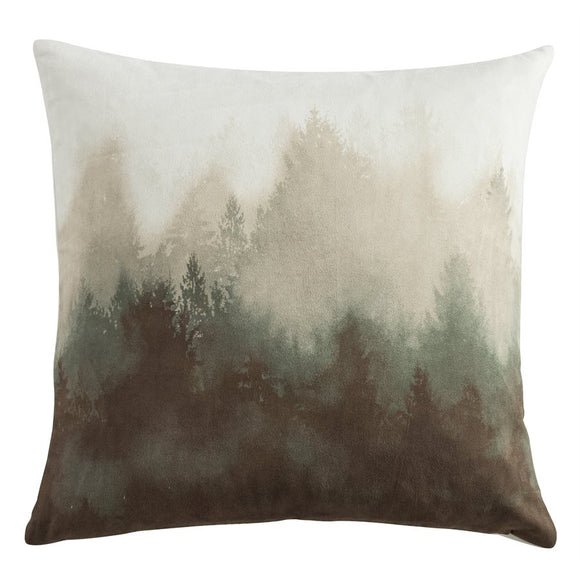 "NL1733P5 - Watermark Tree Pillow - 18""x18"" by HiEnd Accents"