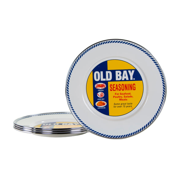 OB11S4 - Set of 4 - Old Bay - Sandwich Plates