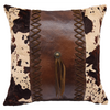 PL3127 - Faux Cowhide Pillow - Western Bedding by HiEnd Accents