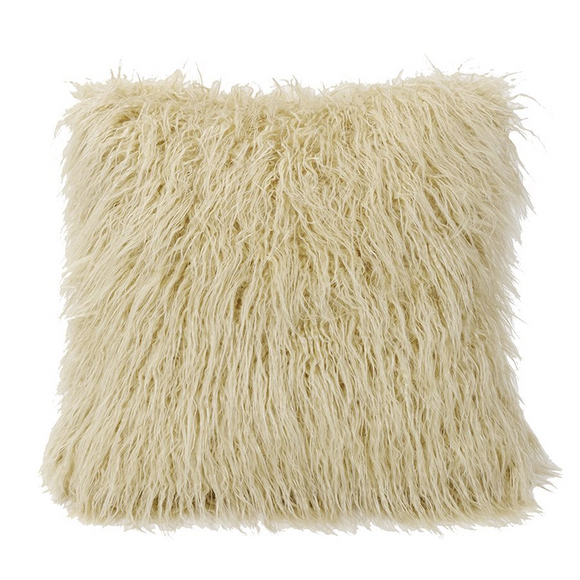 PL5003 Mongolian Faux Fur Pillow