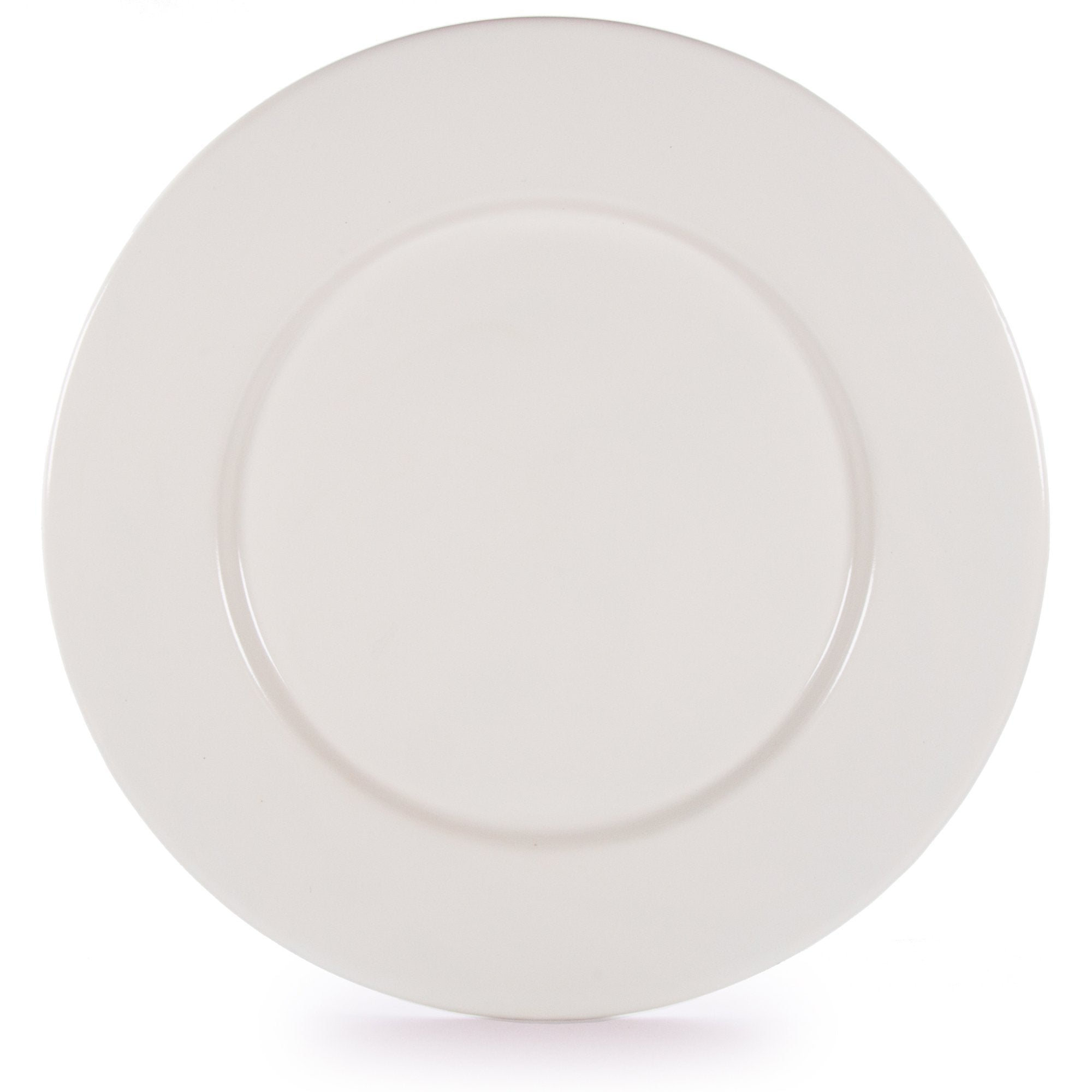 RCC91 - Glampware Plates - Cream  - Set of 4