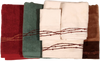 TW3190  - Set of 3 Barbwire Design Embroidered Towels
