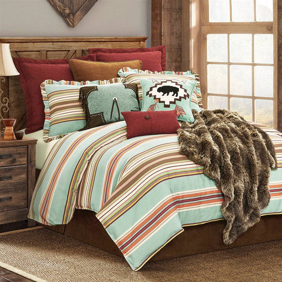 WS1753 - Serape Bedding Set - Lodge Bedding by HiEnd Accents