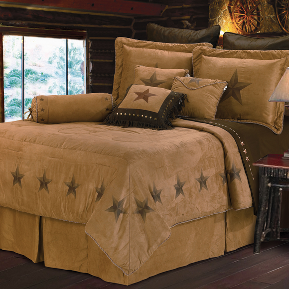 WS2010 - Luxury Star Bedding Set by HiEnd Accents