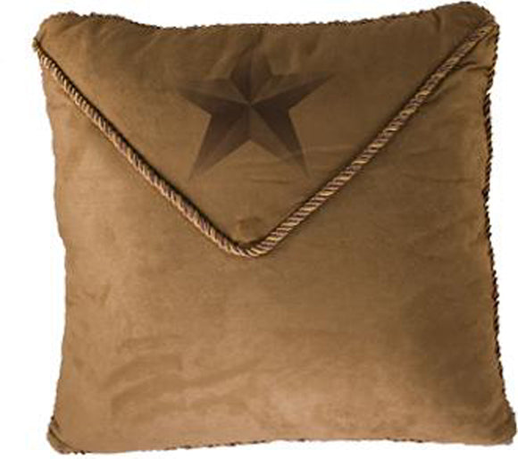 WS2010P2 - Luxury Star Pillow - Western Bedding by HiEnd Accents