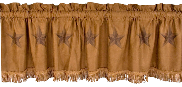 WS2010VL - Luxury Star Valance - Western Bedding by HiEnd Accents