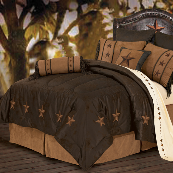 WS2018- Laredo Bedding Set - Western Bedding by HiEnd Accents