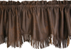 WS3182V2 - Faux Leather Valance - Western Bedding by HiEnd Accents
