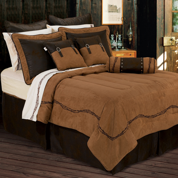 WS3190- Barbwire Bedding Set - Western Bedding by HiEnd Accents