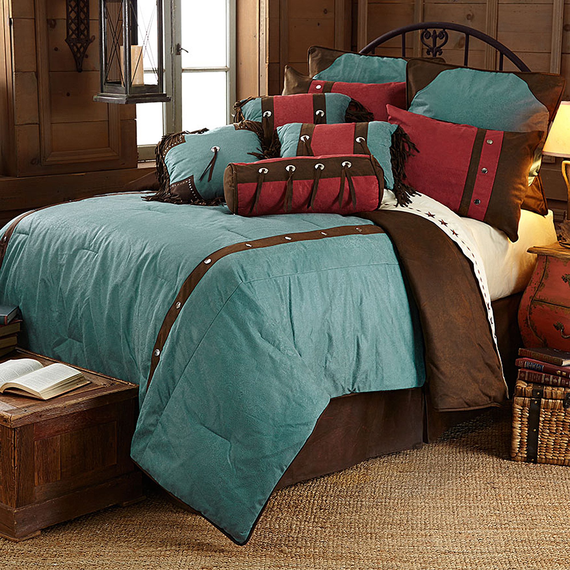 WS4001- Cheyenne Bedding Set - Western Bedding by HiEnd Accents