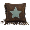 WS4001P1 - Star Pillow - Western Bedding by Hiend Accents