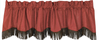 WS4001VL- Embossed Faux Leather Valance - Western Bedding by HiEnd Accents