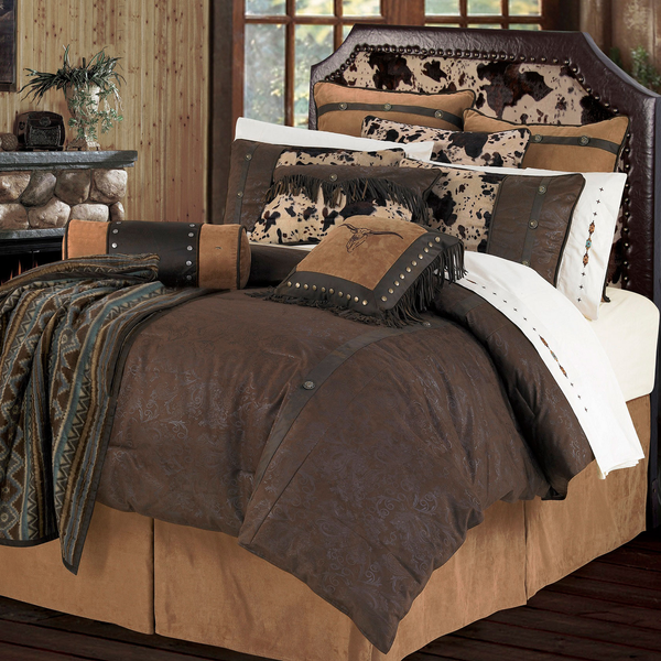 WS4002- Caldwell Bedding Set - Western Bedding by HiEnd Accents