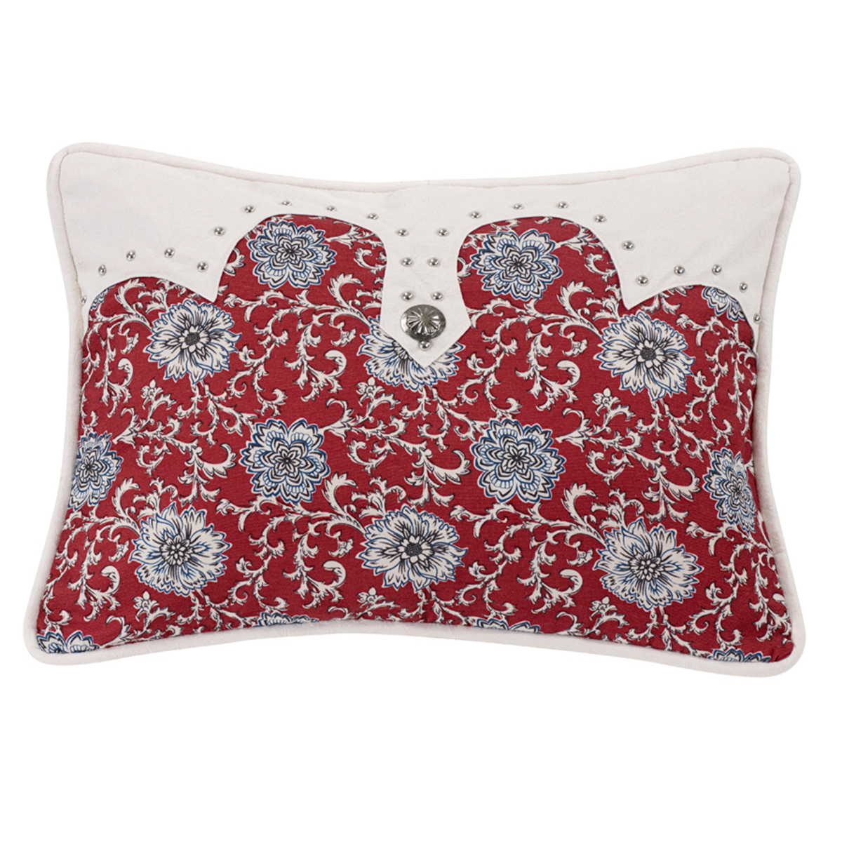 WS4011P5  Bandera Oblong Floral Pillow