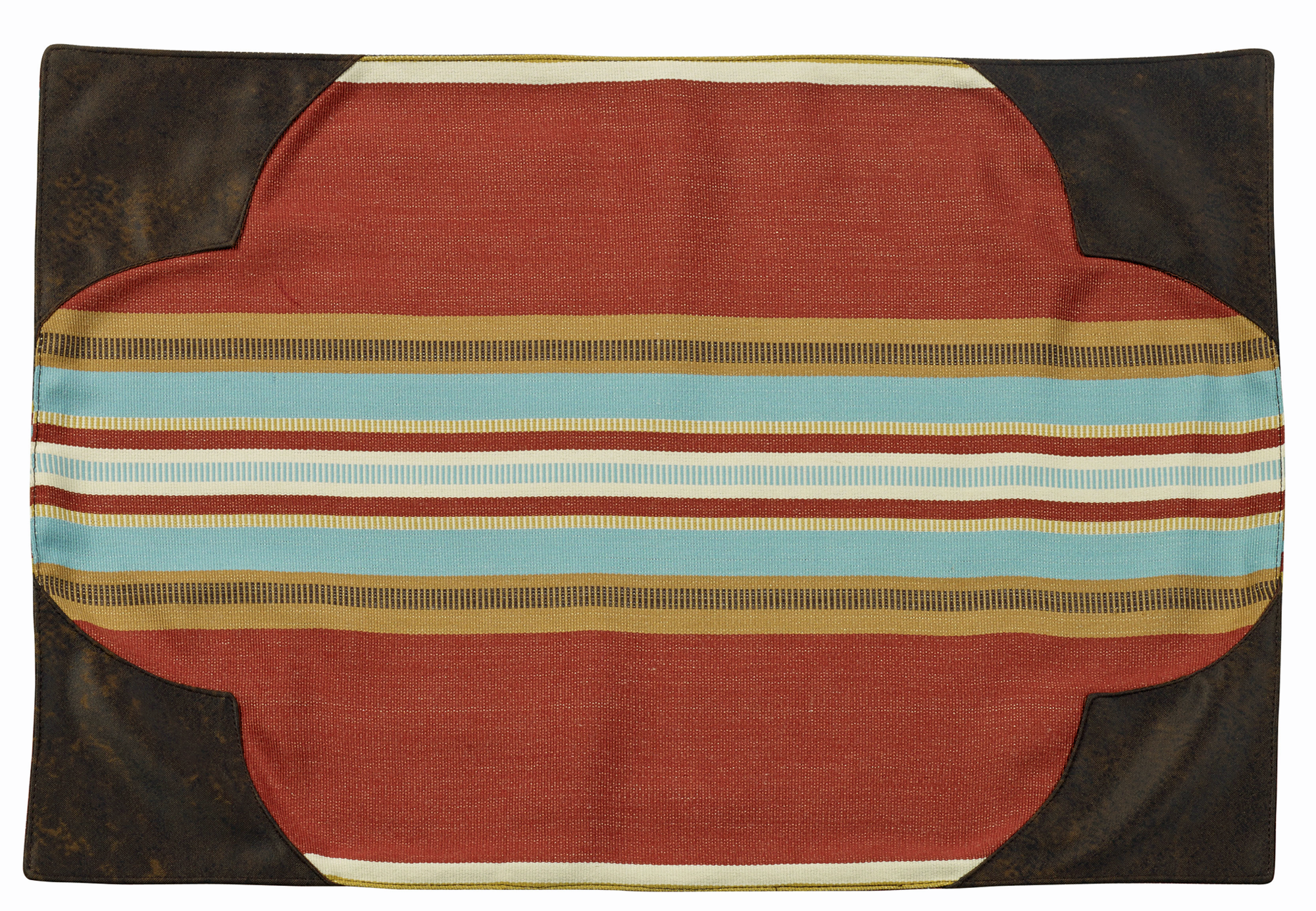 WS4060PM - Calhoun Placemats (Set of 4)- Western Bedding by HiEnd Accents