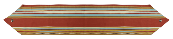WS4060R - Striped Table Runner - Western Bedding by HiEnd Accents