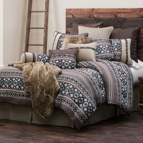 WS4078 - Tucson Bedding Set - Western Bedding by HiEnd Accents