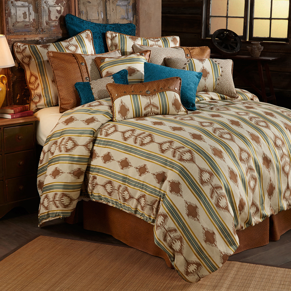 WS4082 - Alamosa Comforter Set- Western Bedding by HiEnd Accents