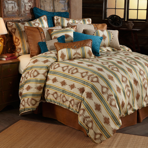 WS4082C - Alamosa Curtain - Western Bedding by HiEnd Accents