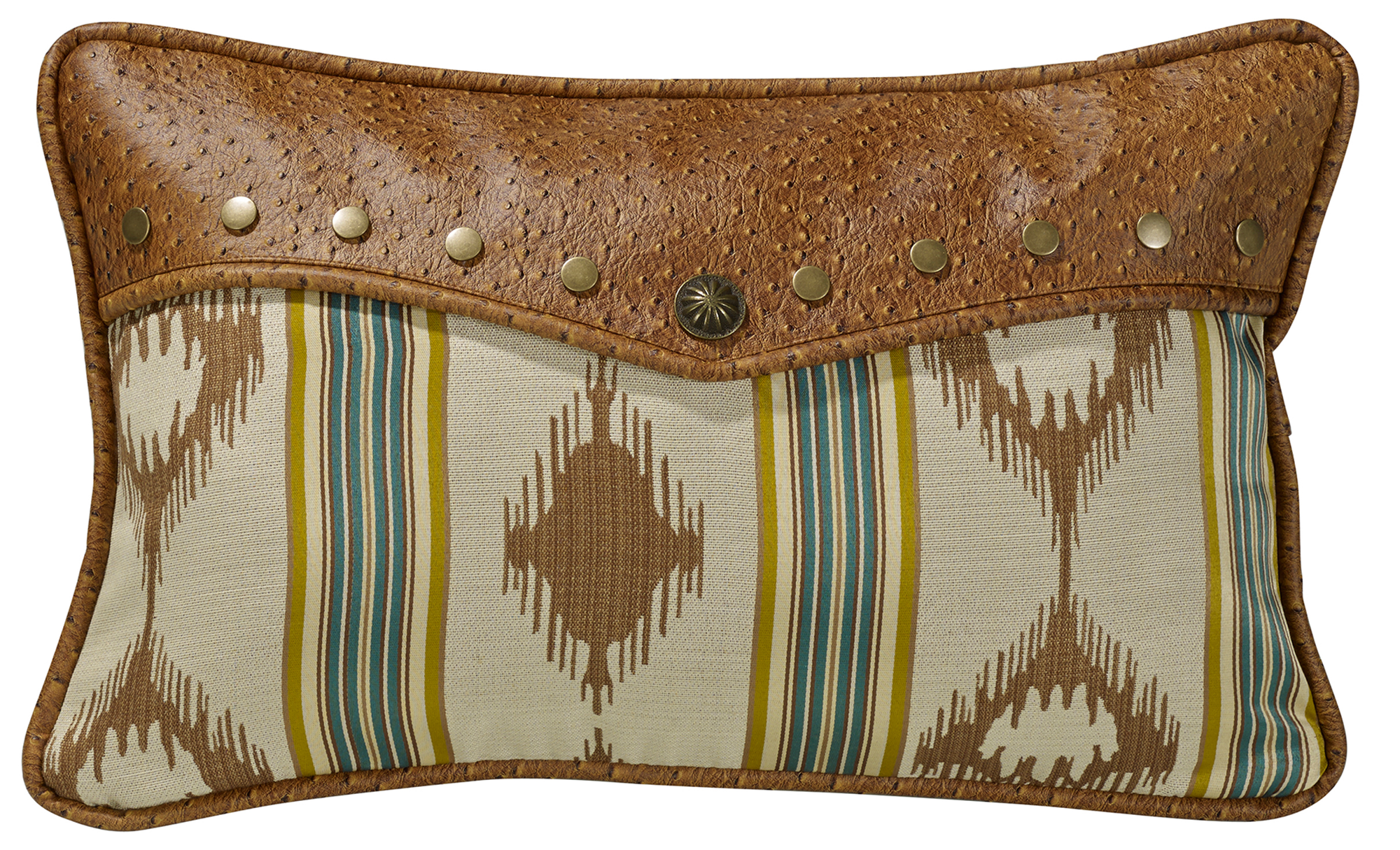 WS4082P1 - Alamosa Pillow - Western Bedding by HiEnd Accents