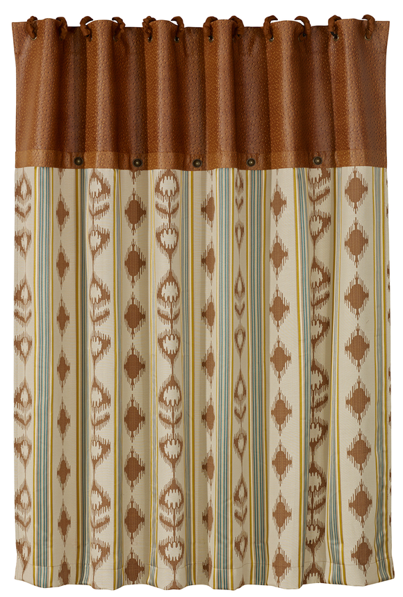 WS4082SC - Alamosa Matching Shower Curtain