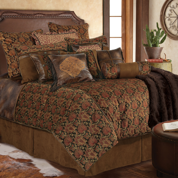 WS4068 - Austin Bedding Set - Western Bedding by HiEnd Accents