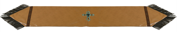 WS4182R - Las Cruces Table Runner - Western Bedding by HiEnd Accents