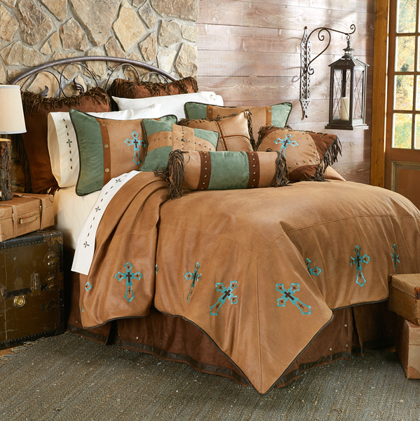 WS4183- Las Cruces II Bedding Set - Western Bedding by HiEnd Accents