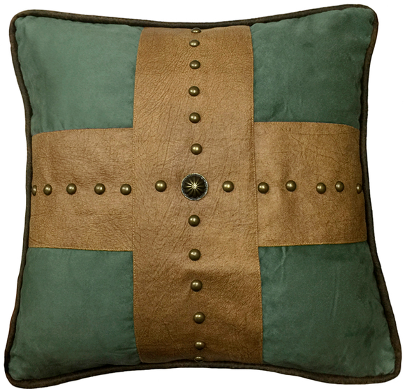 WS4183P4 - Las Cruces II Pillow - Western Bedding by HiEnd Accents