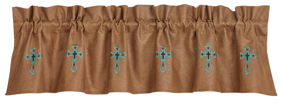 WS4183V1 - Las Cruces II Valance - Western Bedding by HiEnd Accents