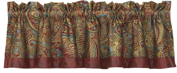 WS4287V1 - Paisley Valance - Western Bedding by HiEnd Accents
